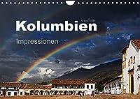 Kolumbien Impressionen (Wandkalender 2022 DIN A4 quer): Die Highlights Kolumbiens in beeindruckenden Bildern. (Monatskalender, 14 Seiten )