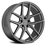 TSW GENEVA Custom Wheel - 18x9.5, 39 Offset, 5x114.3 Bolt Pattern, 76.1mm Hub - Matte Gunmetal Rim