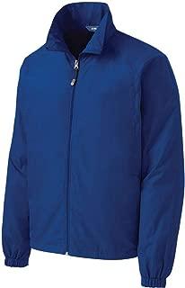 Mens Lightweight Full-Zip Wind Jackets in Sizes XS-6XL