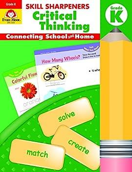 Paperback Skill Sharpeners : Critical Thinking, Grade K Book