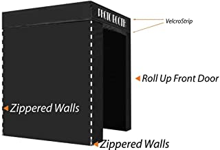 Impact Canopy 5' x 5' Pop-Up Portable Photo Booth Tent Studio with Roller Bag, Black