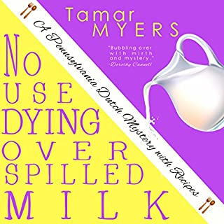 No Use Dying Over Spilled Milk audiobook cover art
