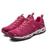 Aerlan Running Shoes with Air Padding,Trainer Joggingschuhe,Laufschuhe atmungsaktive Sport Freizeitschuhe Mesh Laufschuhe-Red_37#