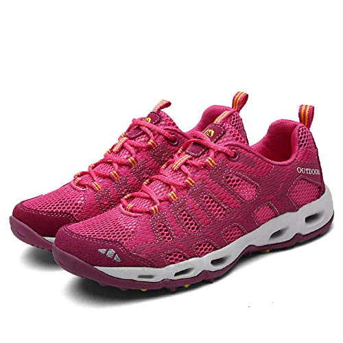 Aerlan Trainers Jogging Shoes,Zapatillas Deportivas Transpirables,Zapatos para Correr,Zapatos Deportivos Transpirables,Zapatos Casuales de Malla,Zapatos para Correr-Red_45#