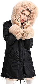 266de6ec02 Amazon.it: Pelliccia di volpe - Più di 500 EUR / Cappotti / Giacche ...