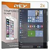 2X Protector de Pantalla para Lenovo Yoga Book 10,1' (Cristal Frontal), Cristal Vidrio Templado Premium, Táblet