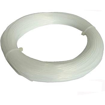 NovaMaker 3D Printer Cleaning Filament 1.75mm Natural, 0.1kg(0.22lb), Dimensional Accuracy +/- 0.05mm,