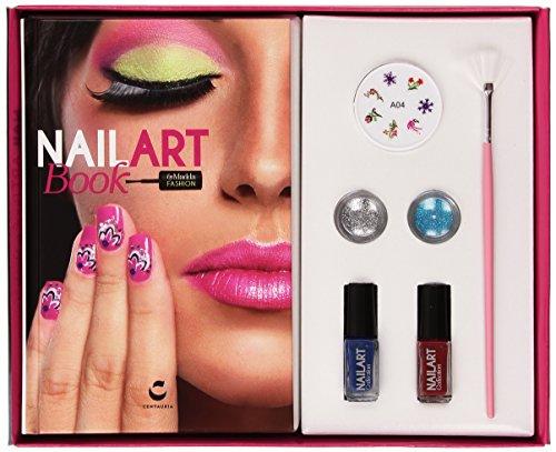 Nail art book by Madda fashion. Con gadget