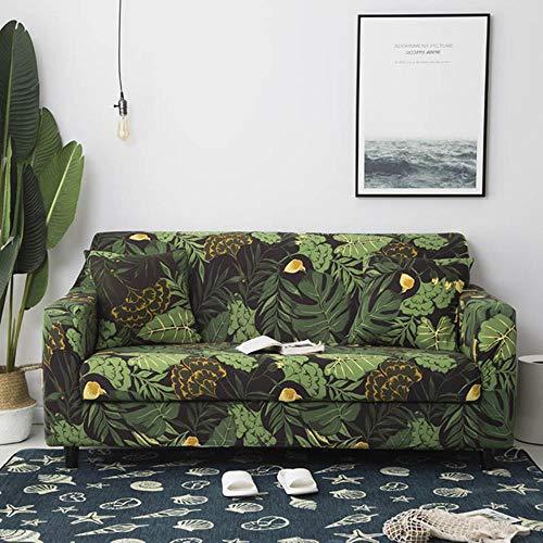 YYBF Funda de sofá Gris Fundas de Muebles elásticas Fundas de sofá elásticas para Sala de Estar Funda de Asiento con Funda Deslizante Sofá de Spandex 1-4 plazas, Color 11,4-Seater (235-300cm)