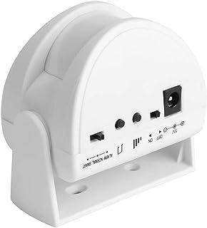 Visitors Welcome Doorbell Wireless Welcome Guest Doorbell IR Motion Sensor Alarm for Hotel Home Shops,White