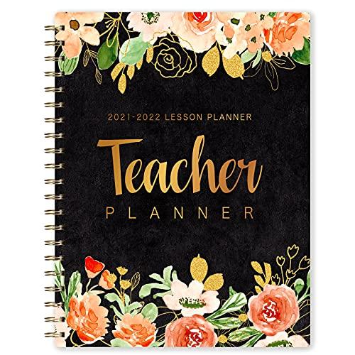 Agenda del Docente 2021-2022Planner per Insegnanti, Settimanale Libro del piano di lezione 8'' x 10'', luglio 2021 - giugno 2022