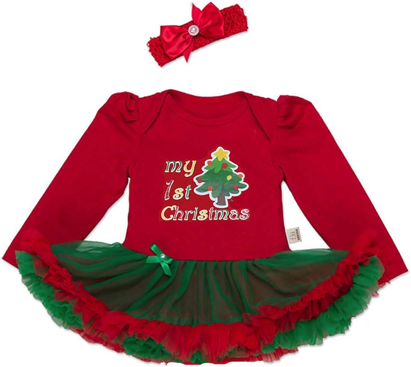 URBEAR Bambine e Ragazze Natale del Partito del Tutu Abitini 2 pz