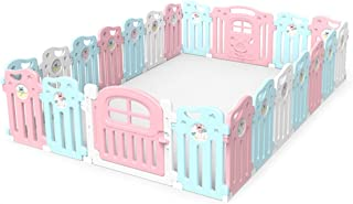 GWFVA Baby Fence Game Safety Kids Park Baby Tent Home Crawling Toddler Kids Pregnant Indoor Activity for Kids Cente