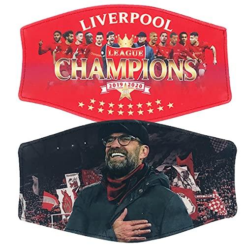Liverpool Champions Face Mask Set 2pcs Gift Souvenir