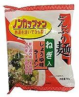 ムソー どんぶり麺・しょうゆ味ラーメン 78g×4袋