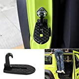 LIANGYUXIA Pedales de aleación de Aluminio Placa de pie de Puerta de Coche Clavijas Plegables Pedal Accesorios de Martillo de Emergencia para Suzuki Jimny JB74 2019+