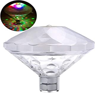 Colorful Waterproof Led Projector Light Home Bathtub Lamp Night Light Underwater Floating Light For Party Pond Spa Swim Pool Led Underwater Lights