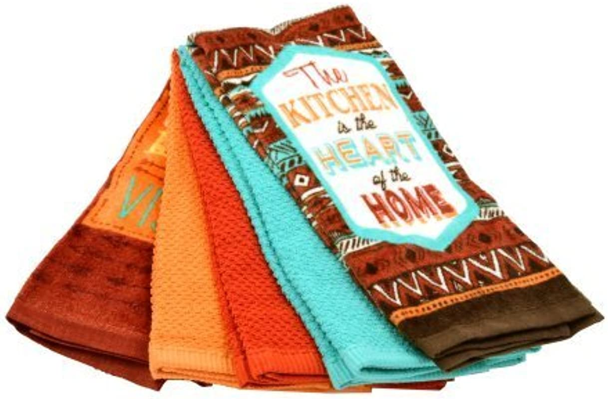 Mainstays The Kitchen 5pc Kitchen Towel Set