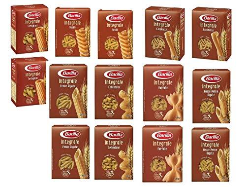 TESTPAKET Pasta Barilla integrali Vollkorn italienisch kurze Nudeln (14 x 500g)