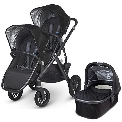 Best Price! UPPAbaby 2015 Vista Stroller With Rumble Seat (Jake/Black)