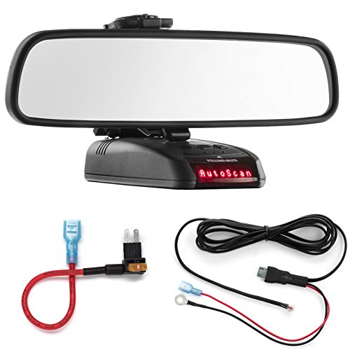 Best Buy! Radar Mount Mirror Mount + Direct Wire Power Cord + Micro2 Fuse Tap for Beltronics STI RX6...