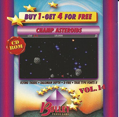 Vol.14 : Champ Asteroids + Flying Tickers + Daloman Depth + X-Fire + True Type Fonts II