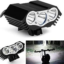 2018 NUEVO SolarStorm X3 3 modos 9000Lumen 3xCree U2 XM-L bicicleta LED luz de la bicicleta faro bicicleta que acampa faro + batería recargable + cargador