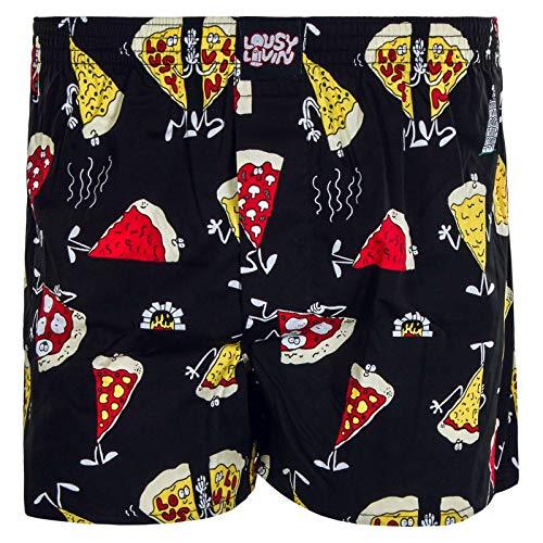 Lousy Livin Pizza Boxershorts Black Größe: M Farbe: Black