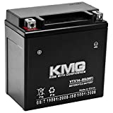 KMG Battery Compatible with Harley-Davidson 1130 VRSC V-ROD 2002-2007 YTX14-BS Sealed Maintenance Free Battery High Performance 12V SMF OEM Replacement Powersport Motorcycle ATV Scooter Snowmobile