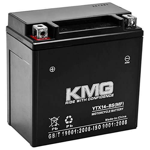 KMG Battery Compatible with Honda 350 TRX350 Rancher 2000-2006...