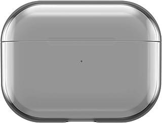 Incase Designerski pokrowiec ochronny kompatybilny z Apple AirPods Pro – przezroczysty/szary [obsługuje bezprzewodowe łado...