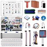 kuman Ultimate Starter Learning Kit for Raspberry Pi 4 B 3 B+,...
