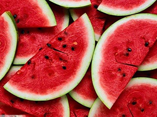 Black Diamond (Rouge) Melon d'eau Heirloom non OGM Melon Fruit Garden Seeds