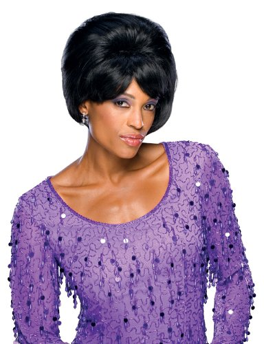 Rubie's Dreamgirls Leader Adult Wig, Black, One Size