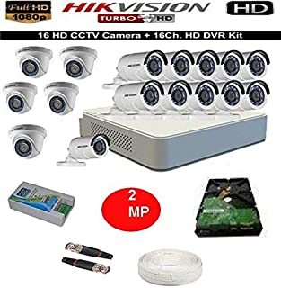 Hikvision 16-Channel HD Bullet Camera with Night Vision