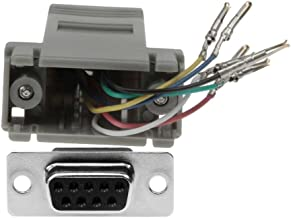 SF Cable, DB9 Female to RJ12 Modular Adapter