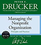 Managing the Non-Profit Organization Low Price CD
