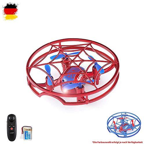 Himoto HSP - Mini cuadricóptero teledirigido (4,5 Canales, con batería, dron 3D con función de looping y LED, función de giroscopio, Modo sin Cabeza, función de Inicio con una tecla)
