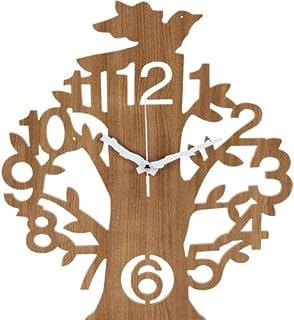 ナチュラルテイスト「壁掛け時計-ツリー-」【FBC】ナチュラル(#9881436-56925)サイズ:幅36×奥行40×高さ4cm