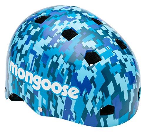 Schwinn MG78286-2 Digital Youth Helmet, Camouflage/Blue