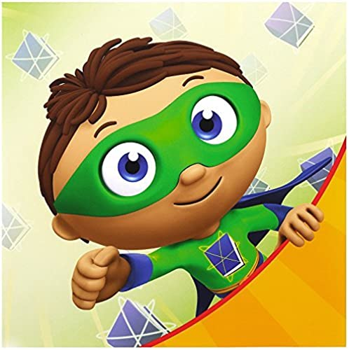 Super Why Party Supplies - Lunch Napkins (20) by BirthdayExpress