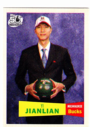 2007-08 TOPPS YI JIANLIAN RC ROOKIE CARD
