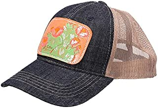 NRS Mens Cap w/Painted Cactus Leather Patch OS Multi
