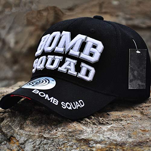 gorra Gorras Beisbol Nuevo ventilador del ejército tácticas al aire libre gorra de béisbol de algodón al aire libre sombrero informal sombreros de moda hombre Hip Hop gorras de diente de lobo,B
