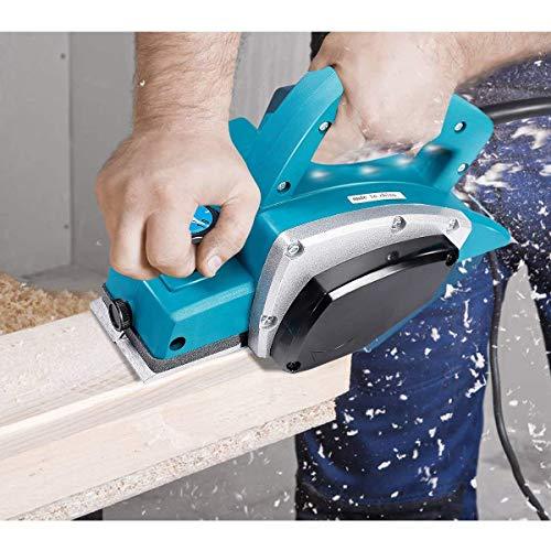Goplus Electric Wood Hand Planer, 3-1/4-Inch 1000W 16,000Rpm Power Planer Hand Held, Woodworking Electric Door Planer