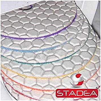 New Set Pads Polishing Tile Diamond Marble Stone Granite Backer Disc Concrete