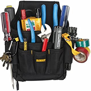 DEWALT DG5103 Small Durable Maintenance and Electrician's Pouch with Pockets for..