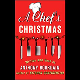 A Chef's Christmas audiobook cover art