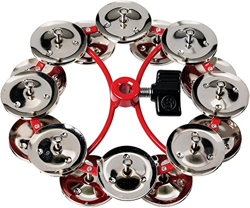 LP Latin Percussion Tambourin City Hi-Hat Jingle Ring Dubbele rij