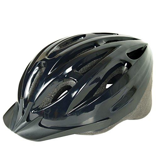 Cycle Force 1500 ATB Cycling Helmet, Black, Adult (56-60 cm)